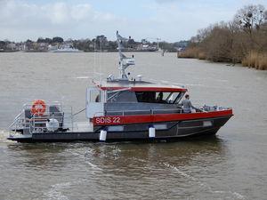 barco profissional barco salva-vidas / barco de combate a incêndio / Z-drive / em alumínio