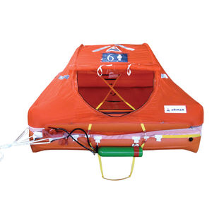 balsa salva-vidas para barco / de 6 lugares / de 8 lugares / 4 lugares