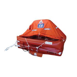 balsa salva-vidas para navio / para iate / de alto mar / de 6 lugares