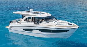 lancha Express Cruiser com motor de popa / bimotor / com hard-top / com casa do leme