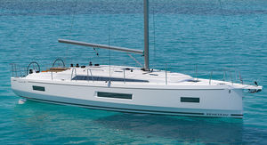 veleiro de cruzeiro / de popa aberta / 2 ou 3 cabines / 3 ou 4 cabines