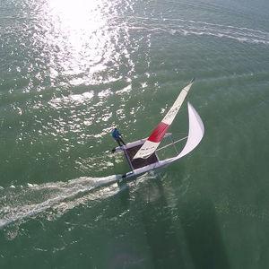catamarã esportivo de lazer / de regata / individual / para dois tripulantes