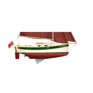 veleiro de cruzeiro / de popa aberta / com quilha retrátil