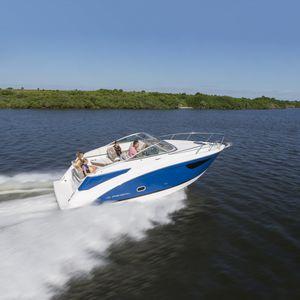 lancha Cabin Cruiser com motor de centro / open / com console dupla / máx. 8 pessoas