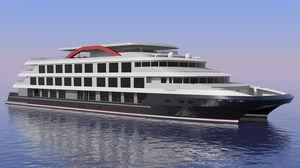 navio de cruzeiro catamarã
