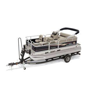 pontoon boat com motor de popa / elétrico / de pesca esportiva / máx. 7 pessoas