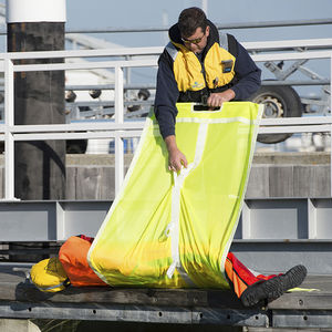 rede para bote de resgate