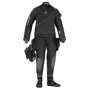 roupa seca de mergulho / de mangas longas / em duas peças / 4 mm