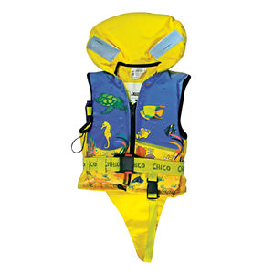 colete salva-vidas em espuma / 100 N / de criança / com arnês de segurança