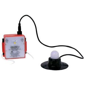 luminária para balsa salva-vidas