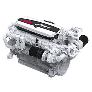 motor de centro / para embarcação de recreio / profissional / a diesel