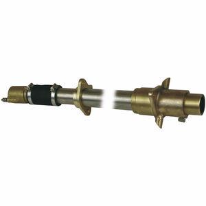 tubo telescópico de eixo para barco