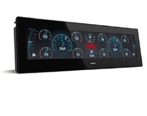 monitor para barco / para navio / multifuncional / sistema de navegação