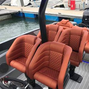 assento de piloto / para barco / com braços / elétrico