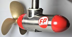 propulsor POD para navio / para barco / fixo / elétrico