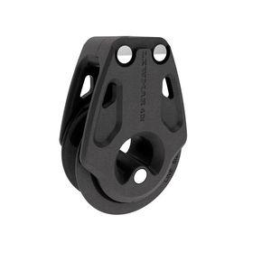 moitão de retorno / com rolamento / simples / ø máx. corda: 8 mm