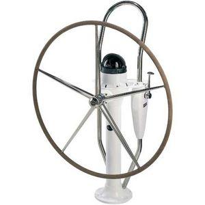 pedestal para roda de leme para veleiros