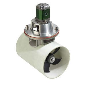 propulsor de proa / para iate / elétrico / hidráulico