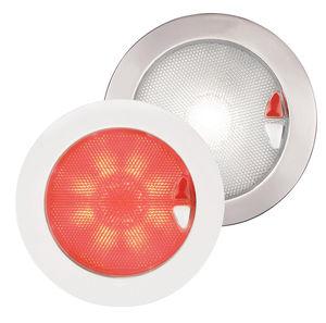 plafon para ambiente interno / para barco / de LED / de plástico