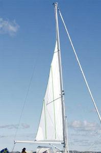 mastro para veleiro / com enrolador / em alumínio