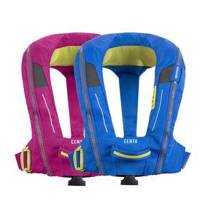 colete salva-vidas autoinflável / 150 N / 100 N / de criança