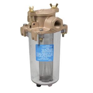 filtro de água bruta / para barco / de tela