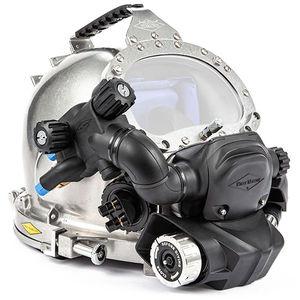 capacete de mergulho