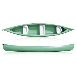 canoa de rio / de turismo / de lazer / de 3 lugares