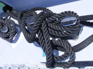 cunho de amarração para veleiro