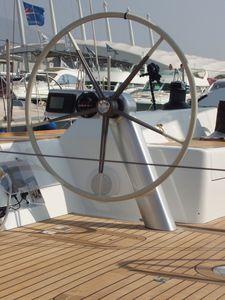 roda de leme para veleiro