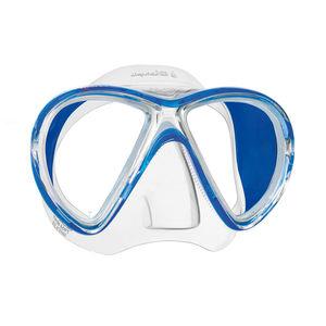 máscara de mergulho de lente dupla