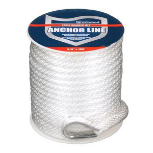 cabo náutico de ancoragem / com trançado apertado / para barco