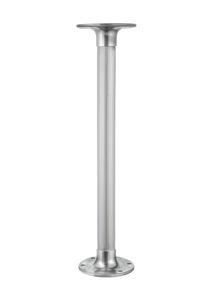 pé de mesa em alumínio