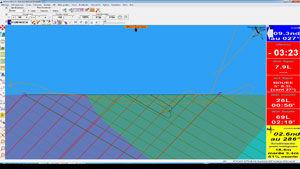 software de navegação / para veleiro