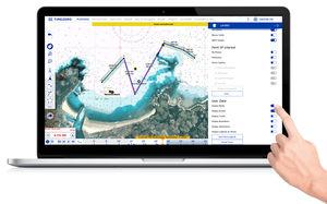 software de navegação / de metereologia / AIS / náutico