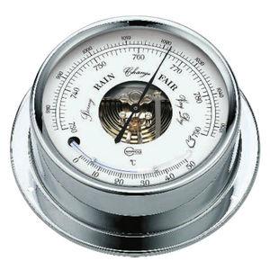 barômetro analógico / termômetro / em latão / em cromo