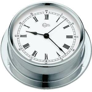 relógio analógico / em cromo / em latão