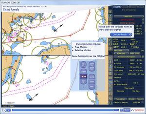 software de treinamento ECDIS