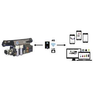 controlador para dessalinizador / para barco / automático / programável