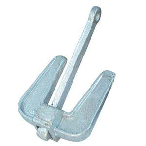 âncora tipo almirantado / para barco / em aço galvanizado