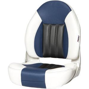 assento de piloto / para barco / com encosto alto / rebatível