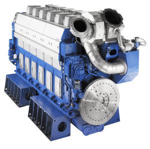 motor para navio semirrápido / a diesel / a turbo / Tier 2