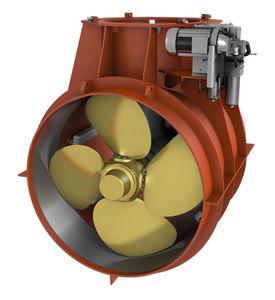propulsor de proa / para navio / hidráulico / tipo túnel