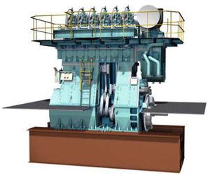 motor para navio lento / a diesel / Tier 3
