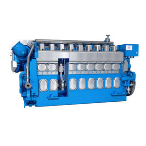 motor para navio semirrápido / a diesel / a gás / bicombustível