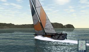 software de navegação / de simulação / para veleiro