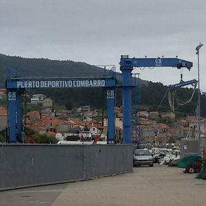 guindaste portuário