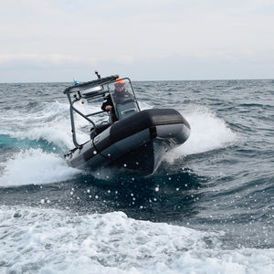 barco profissional barco-patrulha / barco inflável semirrígido / barco inflável