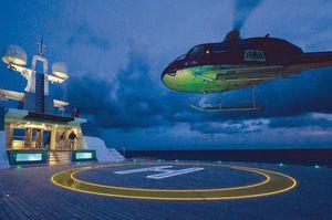 luminária para heliporto