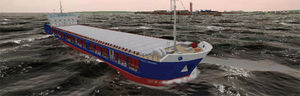 simulador de navegação / para navio